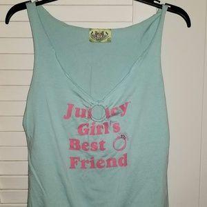 Juicy Girls Best Friend Cut out Embellished Top